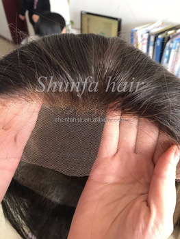 Factory Directly Natural Hairline Bleached