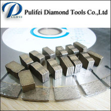 High Quality Used Diamond Segment Granite Cutting Stone with Diamond tip Blade Saw Cutting Tools for Stone Cutting Segment
