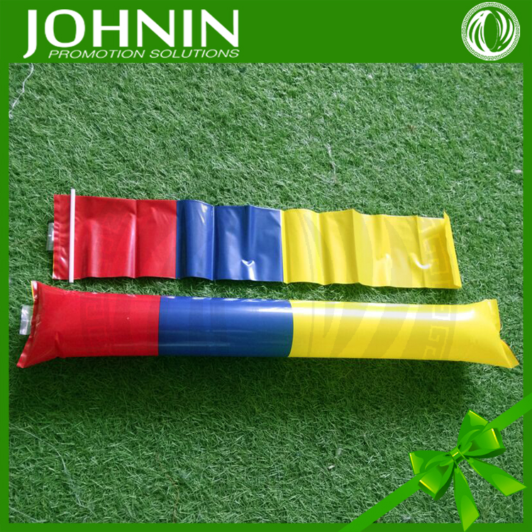 Euro cup 2016 country flag printing inflatable cheering bang stick