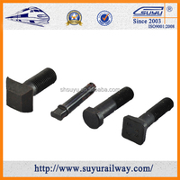 Suyu railway fastener rail clip bolts and nuts