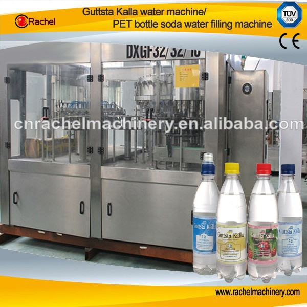 PET bottles soda energy drink water filling production line