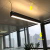 China manufacturer led linear trunking light up and down lighting for office lighting
