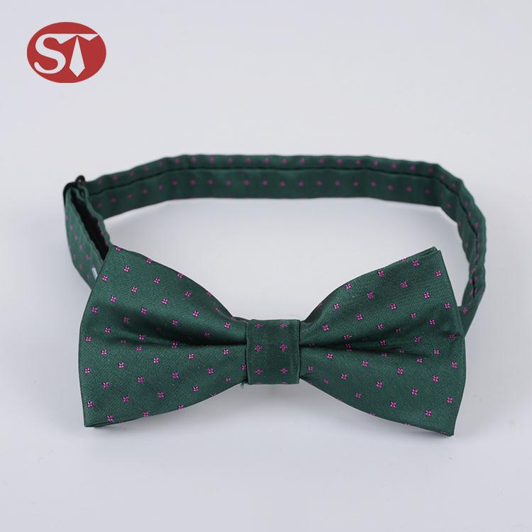 New Arrival custom design classic gift self-tied kids bowtie silk