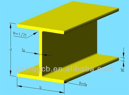 H estructura de vigas de acero vigas de acero en h - Tipos de vigas de acero ...
