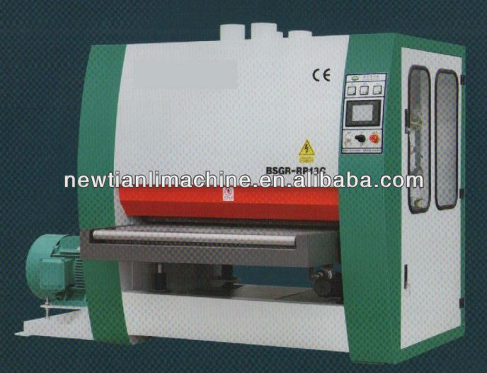 Single side 2 Heads Wide belt Sander