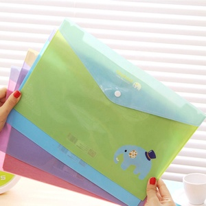 Widely used best price custom PP a4 document file bag cheap promotional a2 plastic file folder
