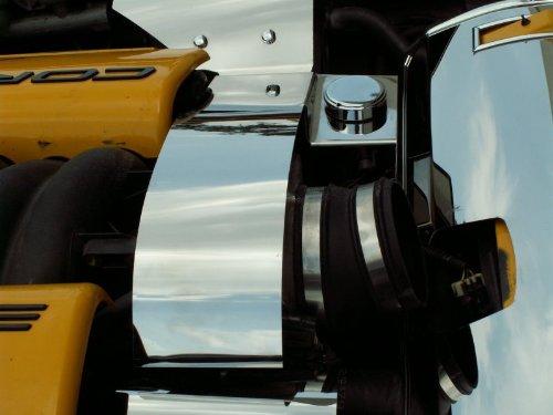 American Car Craft Chevrolet Corvette 1997 1998 1999 2000 2001 2002 2003 2004 Chrome Throttle Body Engine Power Steering Cover