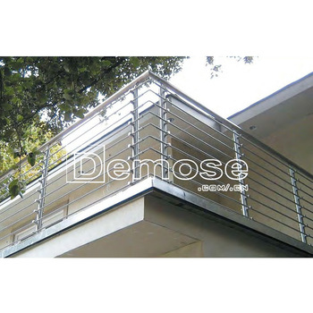 Whole Stainless Steel Balcony Grill Modern Railing Design