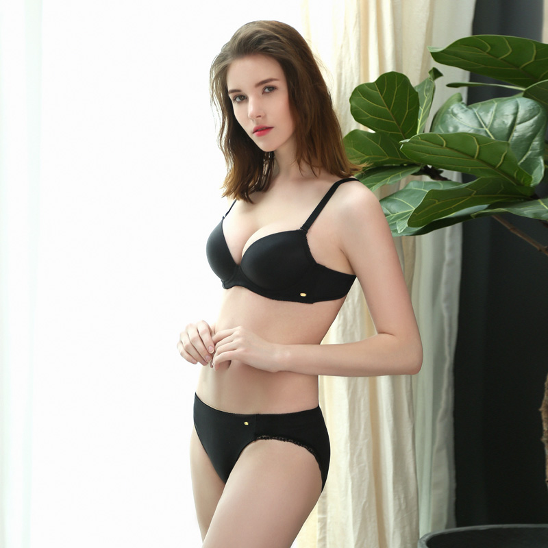 Ailida New Design Hot gilr Sexy Fancy Bra Panty Set