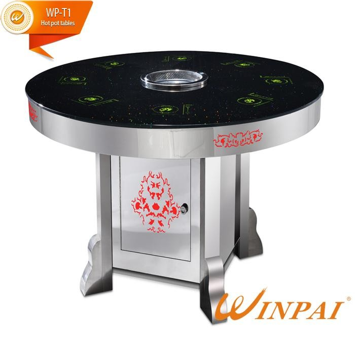 safety hot pot plate restaurant Suppliers for star hotel-3