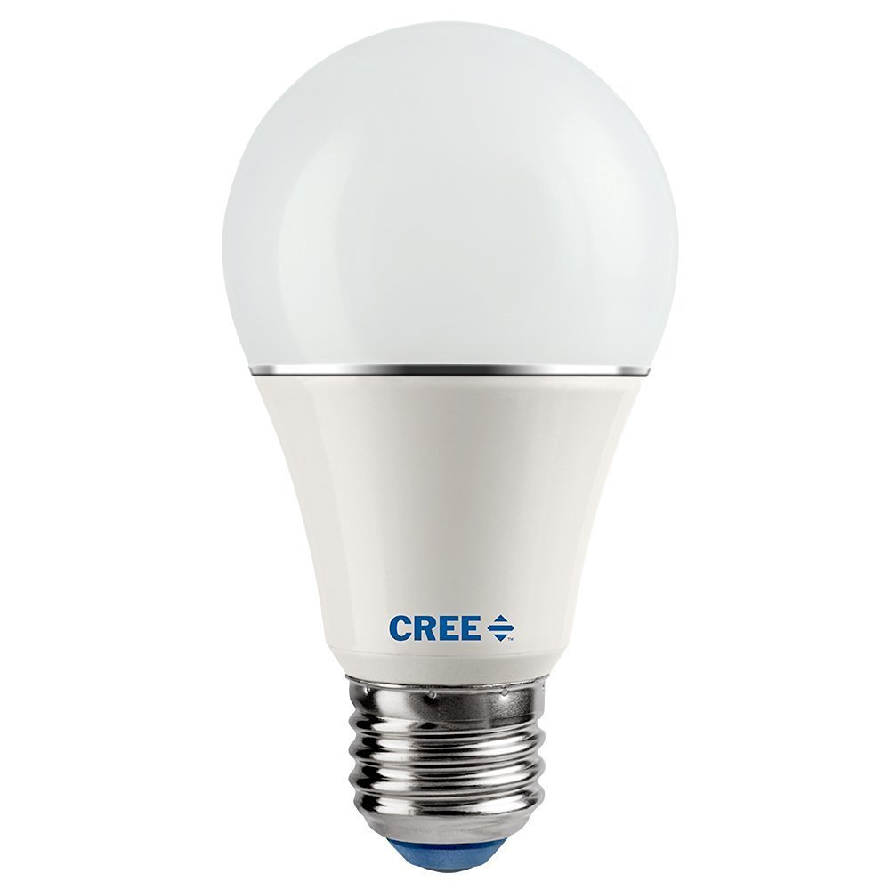 Cree 8-Pack SA19-08150MDFD-12DE26-1-14 Led 60W Replacement A19 Daylight (5000K) Dimmable Light Bulb