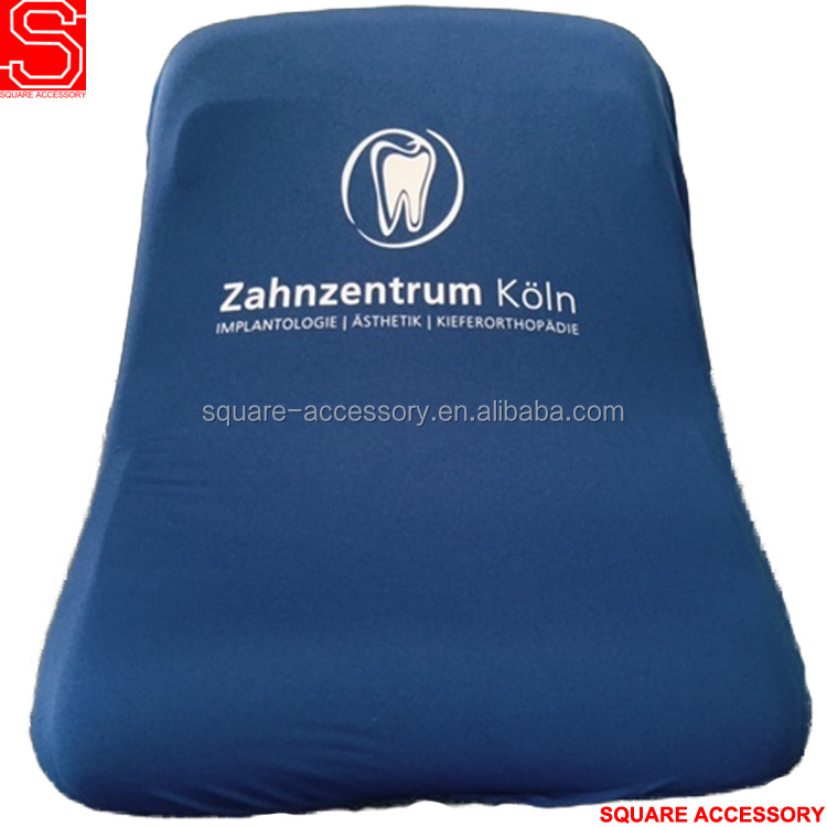 High Elastic Polyester Sublimation Logo Advertise Stadium Seat Cover