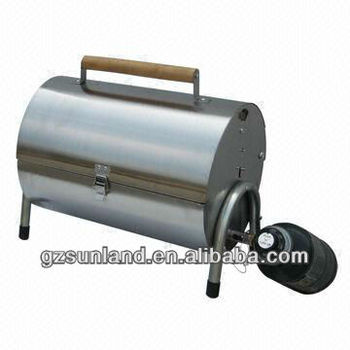 Stansport Like Portable Stainless Steel Propane Barbeque Grill