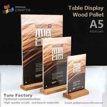 For Trade Shows Retail Stores Restaurants Graphics Posters Menus - Bar table tents