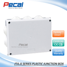 China 200x155x80 waterproof junction box with cable gland knockout