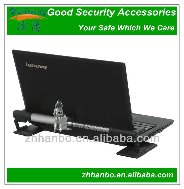 Mechanical security for laptops/notebooke with 3keys