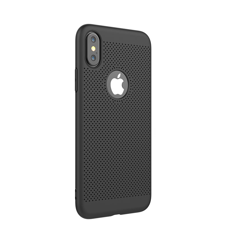 Shengo Wholesale TPU Cell Phone Case Vendor Soft Slim Heat Dissipation Case for iPhone 8