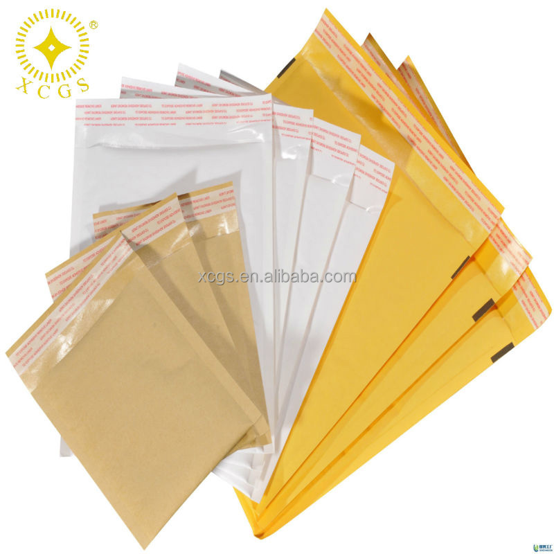 Light Self-adhesive Kraft Bubble Mailer Manufacture