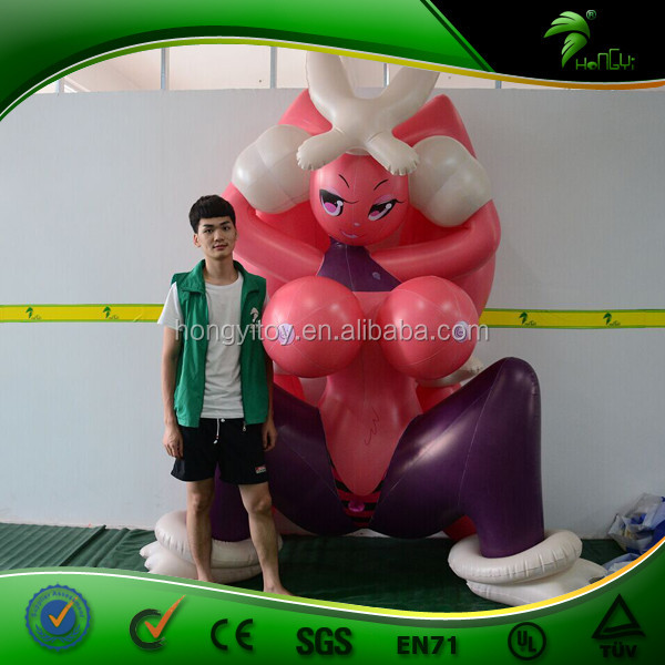Customized Giant Inflatable Sexy Girl Hongyi Inflatable