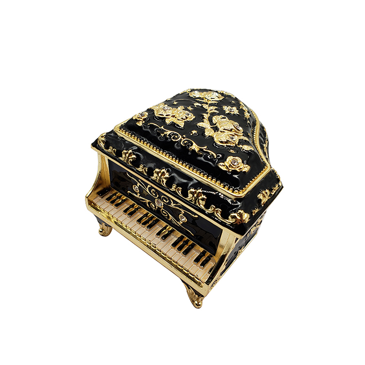 Custom 2018 Christmas Gift Die-casting Product Small Zinc Alloy Piano Hardware Crafts Die Casting Parts