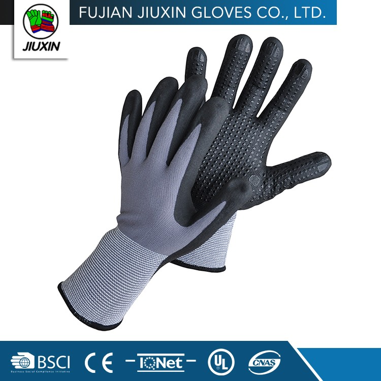 Non Disposable Waterproof Hand Seamless Nitrile Exam Gloves