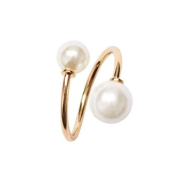 Zooying fashion jewellery online store rings jewelry women pearl ring designs engagement ring