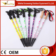 carbon fiber 3 sections classic trekking poles for trekking