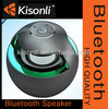 Round speaker with led light vatop bluetooth wireless speakers