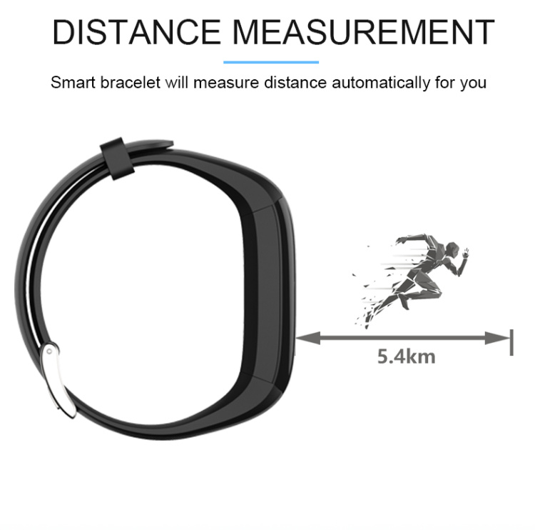 P6 SmartBand IPX7 Waterproof Pedometer Smart Bracelet For IOS Android Fitness Tracker