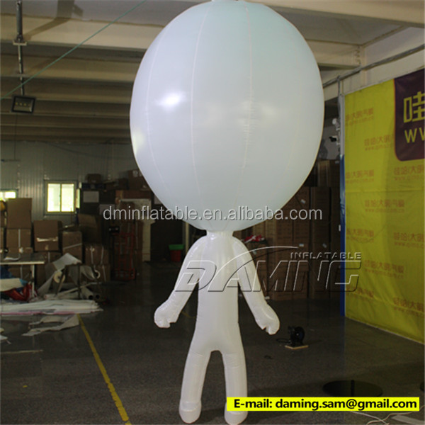 Hanging inflatable cartoon mascot for Nightclubs decoration