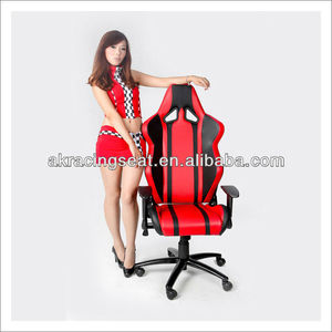 AKRACING HOT SALE metal frame fabric cloth PVC PU leather office chair