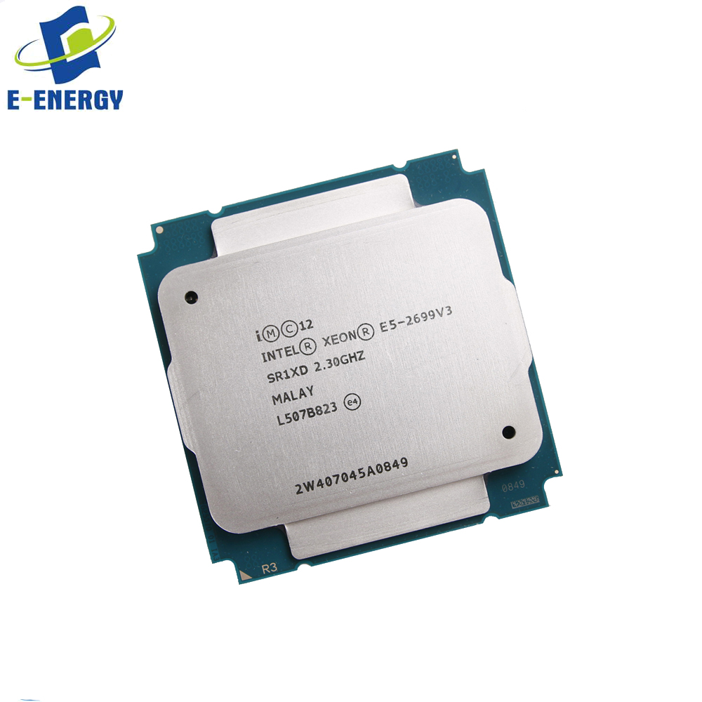 Intel Xeon E5-2699 V3 45m 2 30ghz Sr1xd Cm8064401739300 Server Processor  Cpu - Buy Intel Xeon Cpu E5-2699 V3 45m 2 30ghz,Sr1xd,Cm8064401739300  Product
