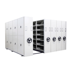 Compact Intelligent Steel Metal Mobile Shelving System