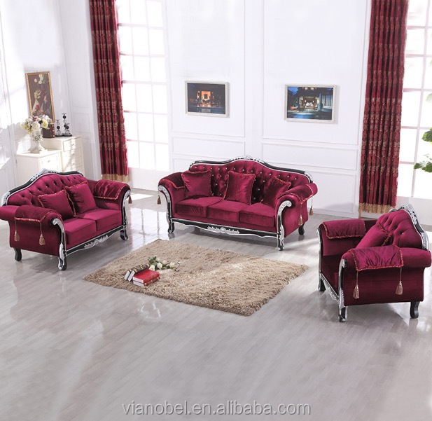 Modern Glamourous Elegance Red Sofa Set Living Room Sofa And Couch  Contemporary - Buy Red Sofa Set,Red Sofa Set,Red Sofa Set Product on  Alibaba.com