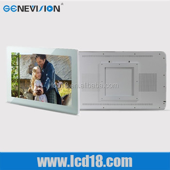 Shenzhen Lcd Manufacturer 32'' Acryle Black Wifi Connection Support HD Player