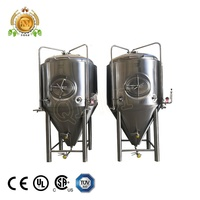 1000l beer fermentation tank/stainless conical fermenter for sale