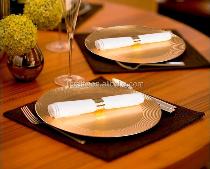 plastic lacquer charger plate,under plate,plastic plate for wedding decoration