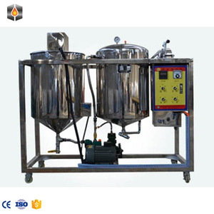 full stainless steel vegetable oil refinery equipment