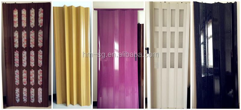 INTERIOR PVC PANEL FOLDING DOOR,PVC SLIDING DOOR,PVC ACCORDION DOOR