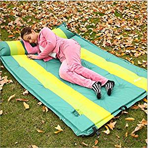 MHGAO Double automatic inflatable mat, outdoor tent sleeping pad/moisture/extended/thickening/camping