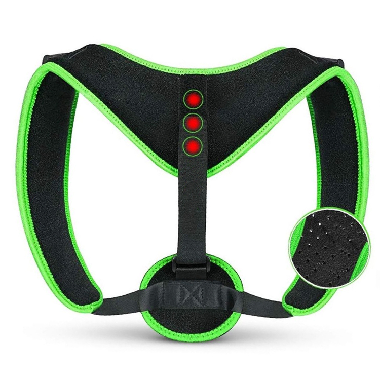 2019 New Magnetic Clavicle Brace Neck Hump Corrector Unisex Back Posture Corrector, Black or customized color