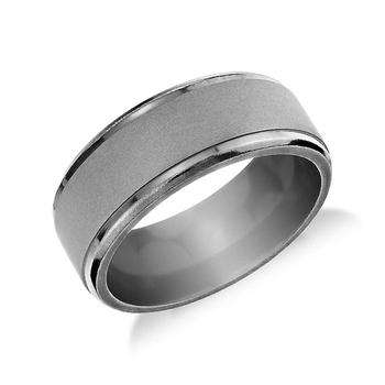 Custom Mens Wedding Bands.Wide Matte Tantalum Rings Men S Wedding Band Custom Blank Promise Ring Buy Tantalum Men Ring Couples Promise Rings Gay Wedding Band Ring Product On