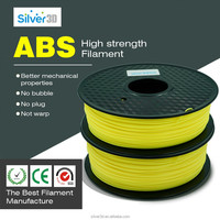 3D PLA-1KG1.75-YLW PLA 3D Printer Filament, Dimensional Accuracy +/- 0.05 mm, 1 kg Spool, 1.75 mm, Yellow