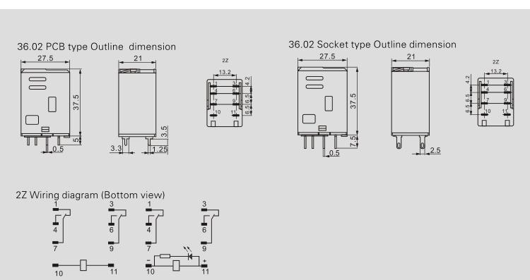 2019 8 Pin 220v Finder Relay 36.2 General Purpose Relay - Buy General  Pin Relay Socket Wiring Diagram on 8 pin connector wiring diagram, 8 pin relay pinout, 8 pin relay base schematic, 5 pin relay wiring diagram, 8 pin timer relay wiring,