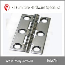 Taiwan Made 76 x 41 x 2.3 mm Top Quality Durable Home Cabinet Drawer Connecting Hinge