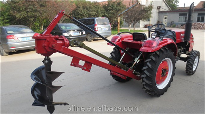 Hot sale tractor mounted 14 inch agriculture post hole digger