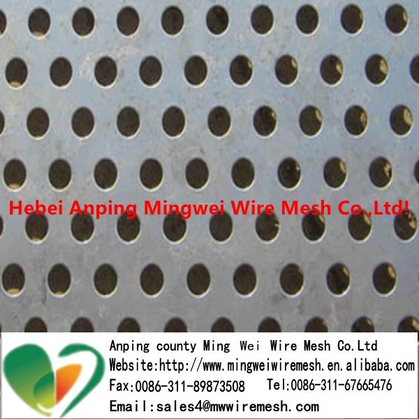 Square , Round Holes Perforated Metal Mesh/Stainless <strong>steel</strong>, aluminum, galvanized sheets