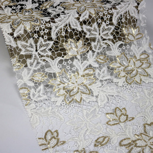 African lace fabrics guipure,gold lace fabric in shaoxing,lace fabric factory in china