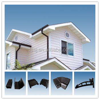 Kenya Colorful Pvc Rain Gutter Rain Water Collector System
