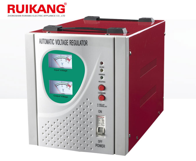 New design RUIKANG v guard 5kva servo logicstat voltage stabilizer price